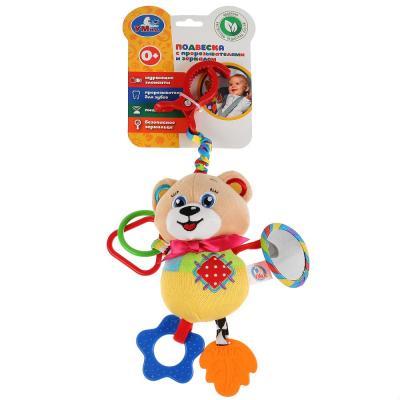 Купить Интерактивная игрушка УМКА Мишка с рождения, разноцветный, текстиль, пластик, унисекс, Игрушки-подвески