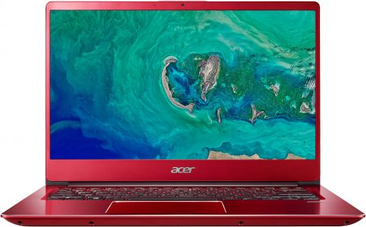 Ультрабук Acer Swift 3 SF314-54-848C Core i7 8550U/8Gb/SSD256Gb/Intel UHD Graphics 620/14/IPS/FHD (1920x1080)/Windows 10 Home/red/WiFi/BT/Cam/3220mAh