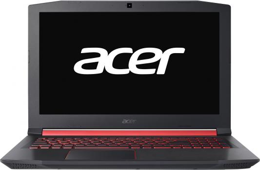 Ноутбук Acer Nitro 5 AN515-52-714Q Core i7 8750H/16Gb/SSD512Gb/nVidia GeForce GTX 1060 6Gb/15.6/IPS/FHD (1920x1080)/Linux/black/WiFi/BT/Cam ноутбук acer switch 5 sw512 52 740j iron