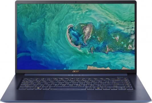 Ультрабук Acer Swift 5 SF515-51T-59ZN Core i5 8265U/8Gb/SSD256Gb/Intel UHD Graphics 620/15.6/IPS/Touch/FHD (1920x1080)/Windows 10 Home/blue/WiFi/BT/Cam