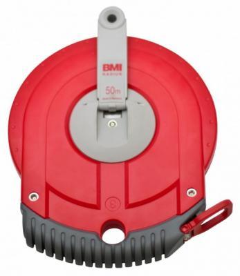 Рулетка BMI RADIUS 50M стальная лента  50м