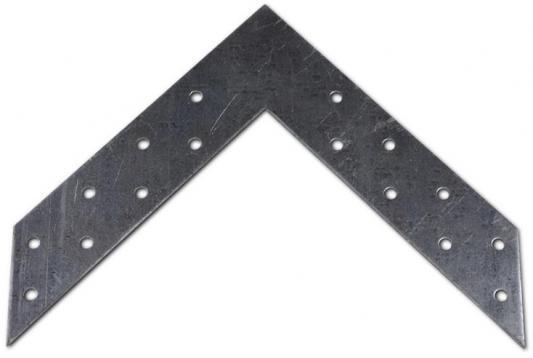 Уголок ПЕТРОТЕХ 126380 угловой соединитель 120х35x2мм оцинк. накл. tech-krep