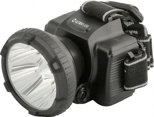Фонарь налобный Ultraflash LED5365 чёрный фонарь налобный ultraflash led5351 серебристый
