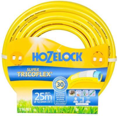 Шланг HOZELOCK 116761 SUPER TRICOFLEX ULTIMATE 25м 1/2 пвх 5-слойный морозостойкий шланг 40322 экстра пвх 3 4 25м 1слойный морозостойкий пищевой
