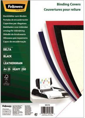 Фото - Обложка Delta A4 Fellowes. Цвет: синий ROYAL, 25 шт, тиснение под кожу, шт обложка картонная глянец a4 250 г м2 красный 100 шт
