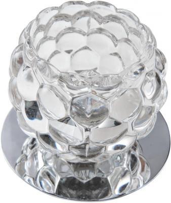 Светильник DE FRAN СЛ037715 хром+прозрачный цена