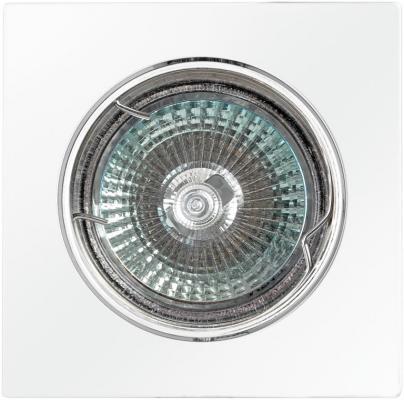 Светильник DE FRAN FT 107KA W квадрат поворотный в центре белый цена