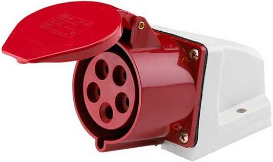 Розетка кабельная DEKRAFT 26033DEK ОП 32А 380В 3P+E+N тип. роз. 125 IP44 DEKRAFT 26033DEK