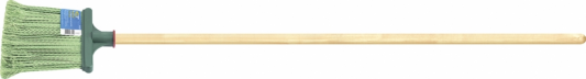 Метла СИБРТЕХ 63219 полипропиленовая 240х160мм распушеная с черенком мотыга 60х80мм c черенком 760мм сибртех