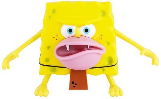 лучшая цена SpongeBob SquarePants игрушка пластиковая 20 см - Спанч Боб грубый (мем коллекция)