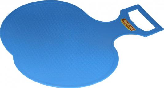Санки-ледянка RT малые голубой пластик санки ледянка пластик снежный гонщик до 40 кг пластик
