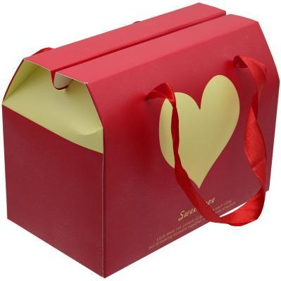 Коробка подарочная складная, 17*10*17 см, с лентой коробка складная sima land заяц с барабаном 17 х 17 х 12 5 см