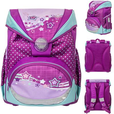 Ранец светоотражающие материалы Tiger Enterprise Favorite Soft Collection 16 л розовый