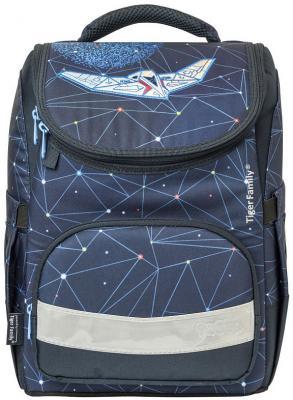 Ранец школьный EARNEST TRAVEL IN SPACE, разм. 39х31х23/37x27x15 см, анатом. спинка, водонепроницаемо