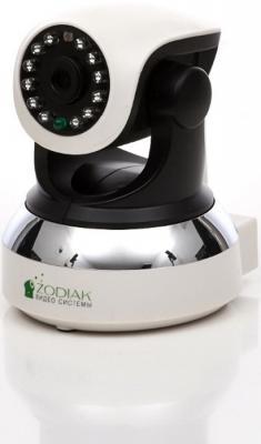 цена на Камера видеонаблюдения ZODIAK ES-IP909IW внутренняя поворотная день/ночь P2P HD Wi-Fi MicroSD