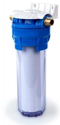 """Фильтр ГЕЙЗЕР 1П 1/2"""" 10 SL для холодной воды, прозрачная колба цена и фото"""