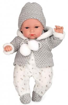 Купить Кукла Arias Arias Elegance Кукла с мягким телом 33 см со звуком плачущая, винил, текстиль, Классические куклы и пупсы