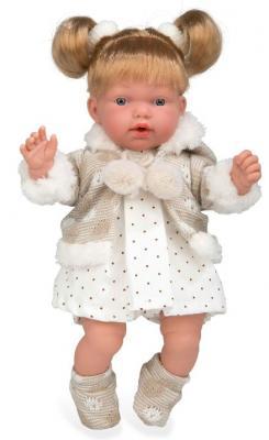 Кукла Arias Arias ELEGANCE Кукла с мягким телом 28 см со звуком смеющаяся кукла arias elegance 36 см т11075