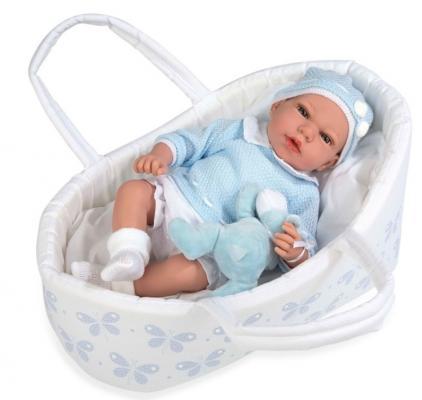 Купить Пупс Arias Пупс Arias Elegance 38 см со звуком плачущая, винил, текстиль, Классические куклы и пупсы