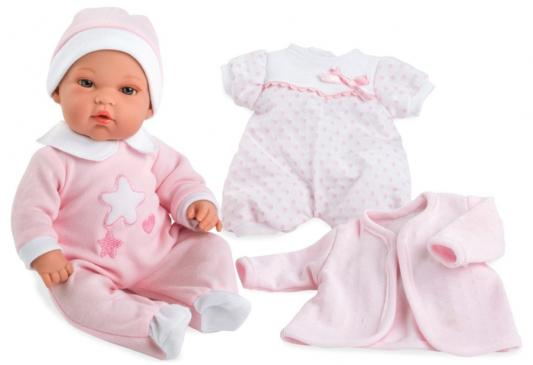 Купить Пупс Arias Пупс Arias Elegance 33 см со звуком, винил, текстиль, Классические куклы и пупсы