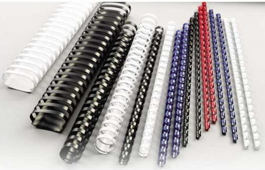 Фото - Пружина пластиковая 6 мм, А4, 25 листов, кольцо, красная, 100 шт/уп набор стаканов 360 мл 6 шт rcr набор стаканов 360 мл 6 шт