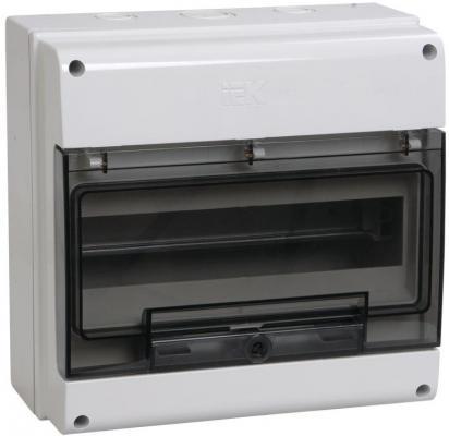 Бокс IEK ОП КМПн 12 MKP73-N-12-66 на 12 мод. IP66 водонепроницаемый бокс sonoff waterproof case ip66