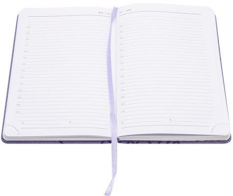 ежедневник датированный 2018 index agent кожзам линия а5 168 листов коричневый Ежедневник Index Line недатиров., ф. А5, кожзам, лин, перф.угла, ляссе, 352с, лиловый