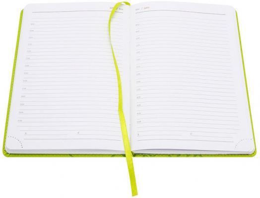 ежедневник датированный 2018 index agent кожзам линия а5 168 листов коричневый Ежедневник Index Line недатиров., ф. А5, кожзам, лин, перф.угла, ляссе, 352с, салатовый