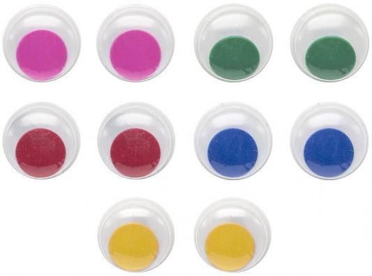 Фото - Глаза декоративные цветные, d=15 mm, 10 шт., п/п с е/п глаза декоративные цветные d 6 mm 60 шт в блист