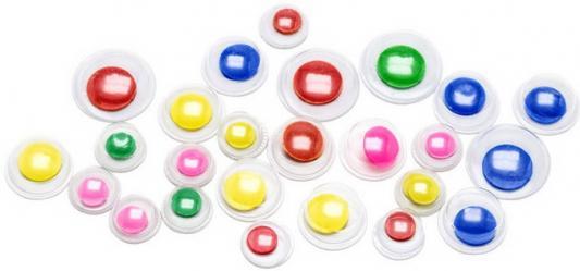 Фото - Глаза декоративные цветные, ассорти, 24 шт., п/п с е/п глаза декоративные цветные d 6 mm 60 шт в блист