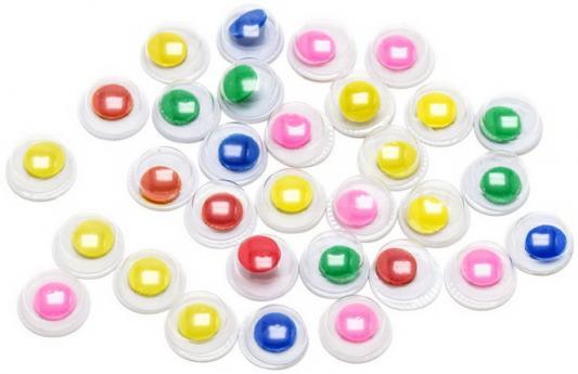 Фото - Глаза декоративные цветные, d=6 mm, 30 шт., п/п с е/п глаза декоративные цветные d 6 mm 60 шт в блист