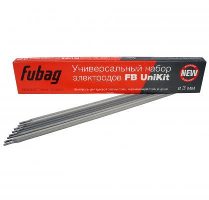Электроды FUBAG 38883 универсальный набор электродов fb unikit o 3мм 0.9 кг***