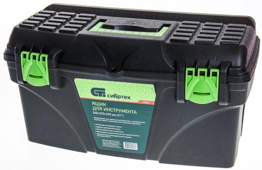 Ящик СИБРТЕХ 90806 для инструмента 290х530х275мм пластик цена