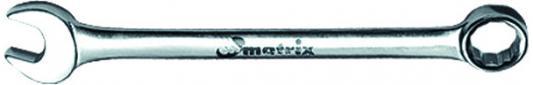 Ключ комбинированный MATRIX 15158 (14 мм) CrV полированный хром ключ комбинированный matrix 15163 19 мм crv полированный хром
