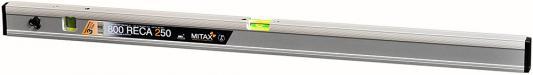 Уровень MITAX 800 RECA 250 800мм 0.7мм/м 2 глазка строительный уровень irwin 1950мм 800мм 2000 box beam