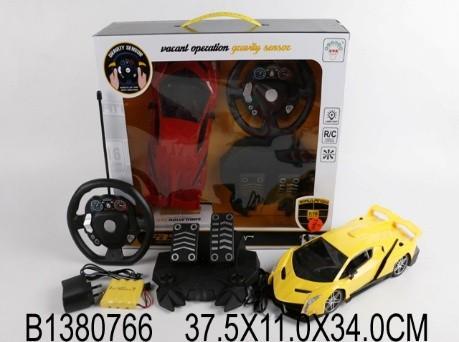 Машинка на радиоуправлении best toys Машинка пластик, металл от 3 лет желтый весы напольные atlanta ath 6133