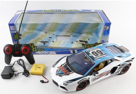 """Машинка на радиоуправлении best toys """",Super Racer - Sprint"""", пластик от 5 лет разноцветный"""