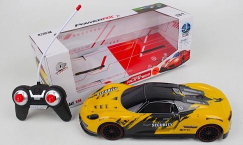 Машинка на радиоуправлении best toys Машинка пластик, металл от 5 лет желтый