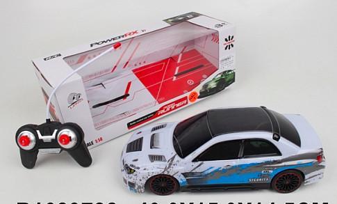 Машинка на радиоуправлении best toys Машинка пластик, металл от 5 лет белый