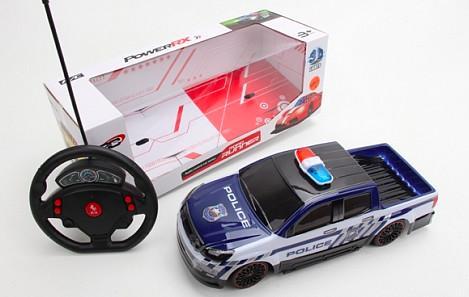 Машинка на радиоуправлении best toys Машинка пластик, металл от 5 лет синий