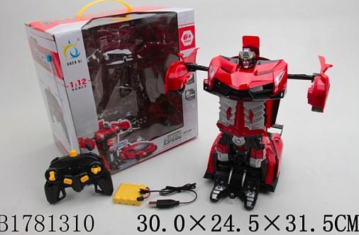 Машинка на радиоуправлении best toys Машина-трансформер пластик, металл от 3 лет красный цены онлайн
