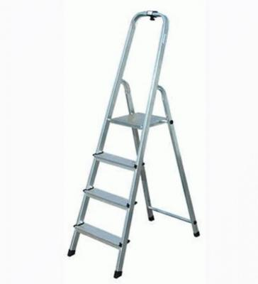 Стремянка СИБРТЕХ 97714 4 ступени алюминиевая лестница стремянка fit алюминиевая 4 ступени 65342