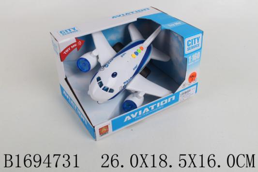 Самолет best toys Инерционный белый