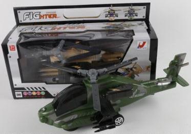 Вертолет best toys зеленый