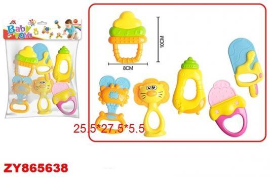 Купить Набор погремушек best toys Погремушка, разноцветный, унисекс, Погремушки и прорезыватели