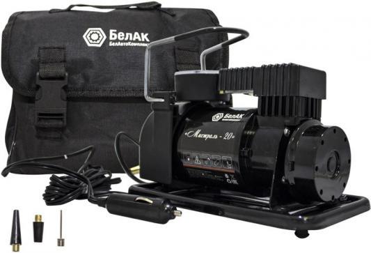 Компрессор БелАК Мистраль-20 12 V 35 л/мин для накачки шин автомобильный компрессор с пылесосом zipower pm 6510 15л мин