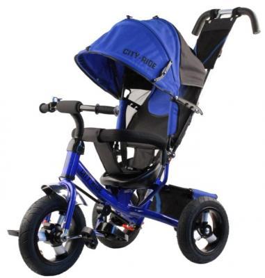 Купить Велосипед CITY 12*/10* синий, Детские трехколесные велосипеды