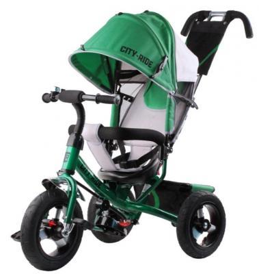 Купить Велосипед CITY 12*/10* зеленый, Детские трехколесные велосипеды