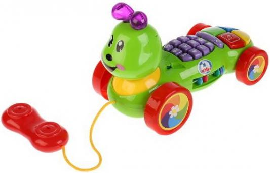Купить Обучающий телефон-каталка на бат. Стихи М.Дружининой, учим цифры, формы и цвета ТМ УМКА в кор.2*18шт, разноцветный, н/д, унисекс, Игрушки со звуком