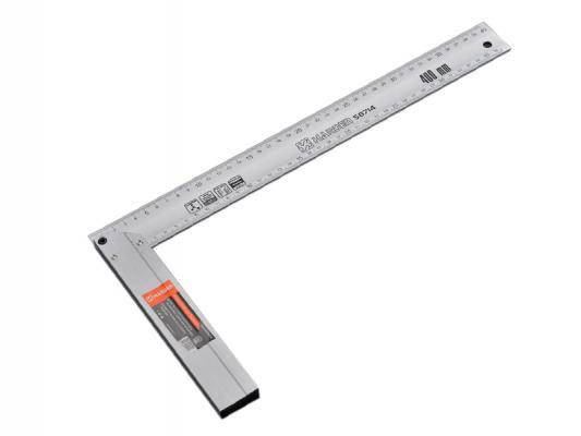 Угольник Harden алюминиевый 40 см алюминий болторез harden 570013 45 7 см